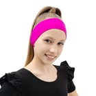 Headband, supplex, color fuchsia