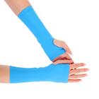 Перчатки для фитнеса бифлекс, цвет бирюза