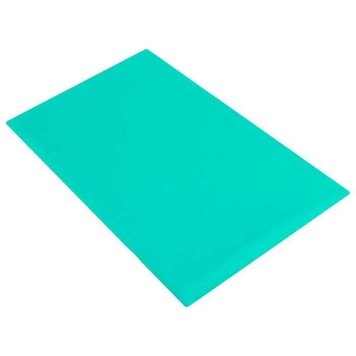 Защита спины гимнастическая (подушка для растяжки) лайкра, цвет зелёный, 38 х 25 см, (ПЛ-9316)