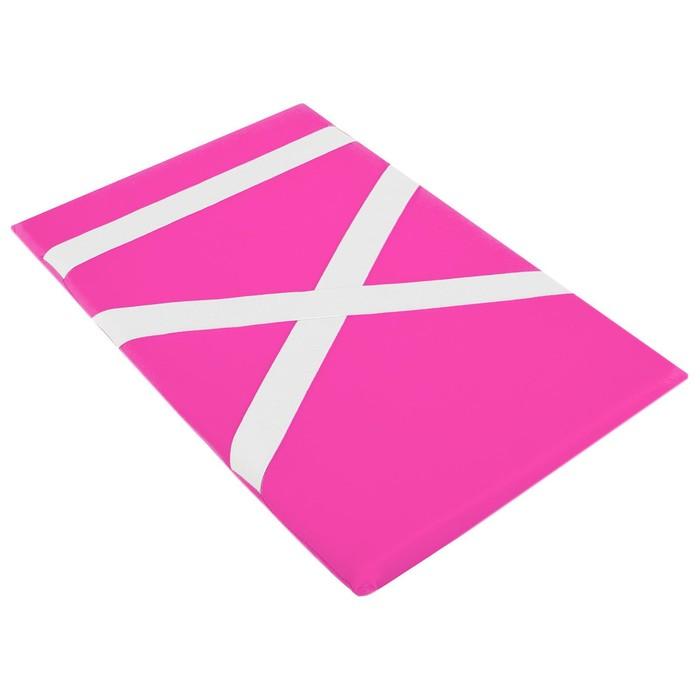 Защита спины гимнастическая (подушка для растяжки) лайкра, цвет розовый, 38 х 25 см, (ПЛ-9308)