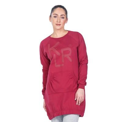 Туника женская Klery, размер 48, цвет бордовый ФП1316