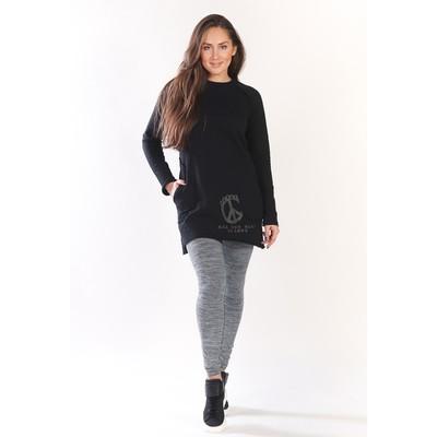 Туника женская Peace, размер 44, цвет чёрный