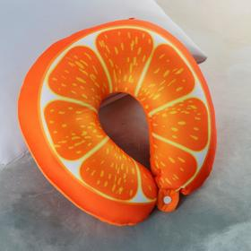"Anti-stress head restraint ""orange Slice"" on the clasp"