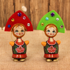 Russian dolls with a hanger and MIX