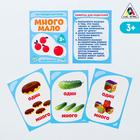 "Flashcards ""Much / Little"", 16 PCs."