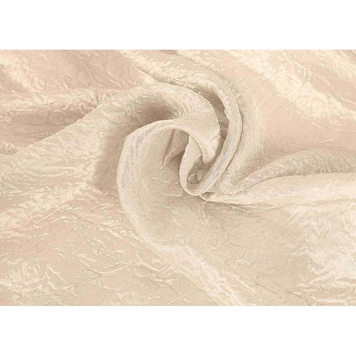 Ткань портьерная в рулоне, ширина 280 см, однотонная, тергалет 45635