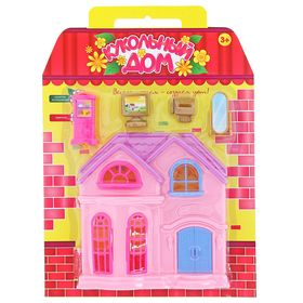 Дом для кукол «Принцесса» с аксессуарами, МИКС