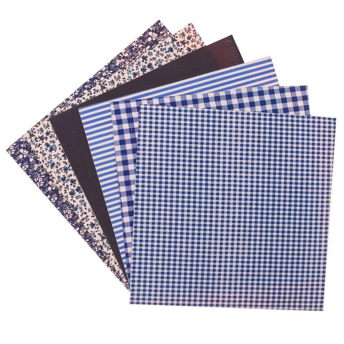 Набор самоклеящихся тканей «Моя Греция», 30 х 30 см