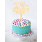 """Топпер в торт """"С Днем Рождения"""" Микки Маус"""