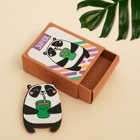 Значок в коробочке «Панда» 5 х 4 см