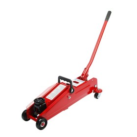 Hydraulic rolling jack AUTOVIRAZH, 3 t, in a case, lifting height 390 mm
