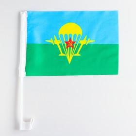 Airborne flag 30x20 cm, set of 12 PCs, stock 40 cm, polyester