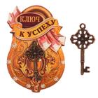 "Ключ ""К успеху"", 8.5 х 5,5 см"