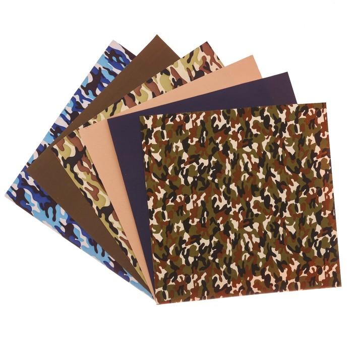 Набор самоклеящихся тканей «Мужской», 30 х 30 см