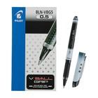 Ручка-роллер PILOT V-Ball Grip, узел 0.5мм, чернила чёрные, линия 0.3мм, резиновый упор