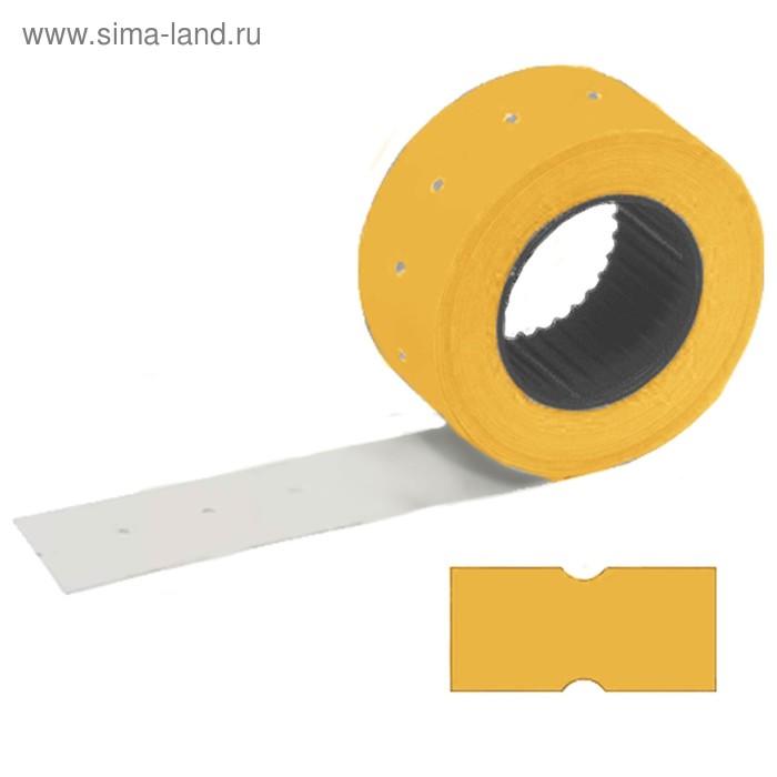 Этикетка самоклеящаяся 21*12мм STAFF 100рул по 800шт, прямоуг, оранжевые 128449