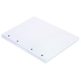 Сменный блок для тетрадей на кольцах А5, 80 листов BRAUBERG, белые
