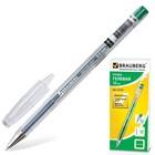 Ручка гелевая 0,5 мм BRAUBERG Jet, чернила зелёные