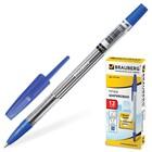 Ручка шариковая BRAUBERG Note, узел 0.7 мм, чернила синие