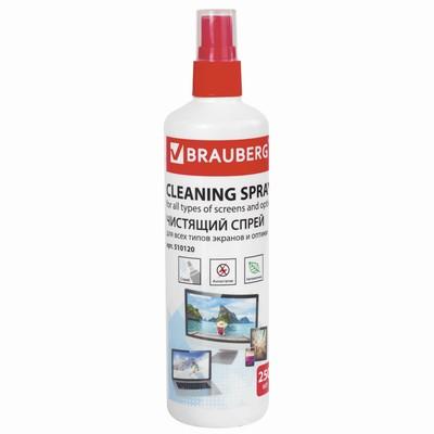 Спрей чистящий д/LCD(ЖК)-мониторов BRAUBERG 250мл 510120