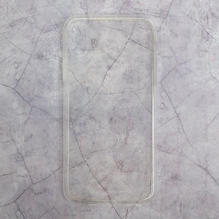 Силиконовый чехол для IPhone X, тонкий, прозрачный