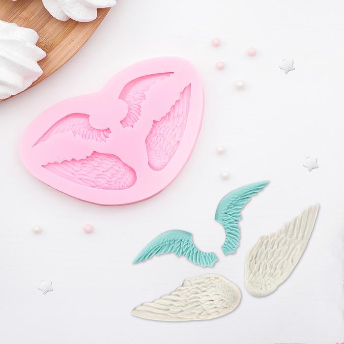 Молд силиконовый «Крылья», 12×8 см