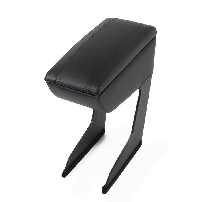 Подлокотник Lada Xray, экокожа, чёрный - фото 234815