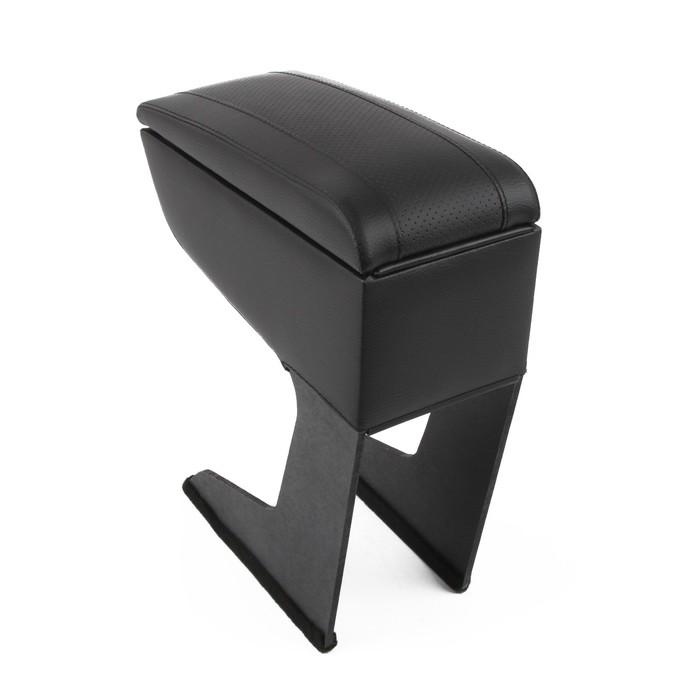 Подлокотник Lada Xray, экокожа, чёрный - фото 234819