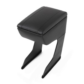 Armrest for Daewoo Nexia, faux leather, black