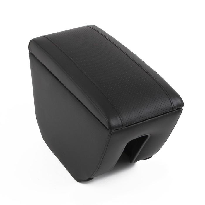 Подлокотник Skoda Rapid, экокожа, чёрный - фото 234750