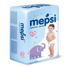 Детские подгузники-трусики Mepsi размер XL (12-22 кг), 38 шт.
