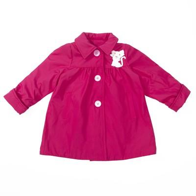 Плащ для девочки, рост 92 см, цвет розовый