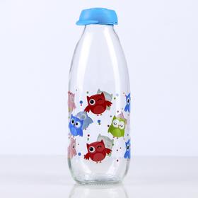 "Бутылка для молока 1 л ""Совушка"""