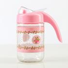 """Бутыль для соуса и масла 600 мл """"Джоли"""", цвет розовый"""