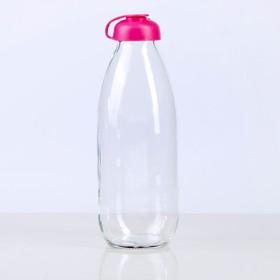 Бутылка для молока 1 л Milky, цвет МИКС