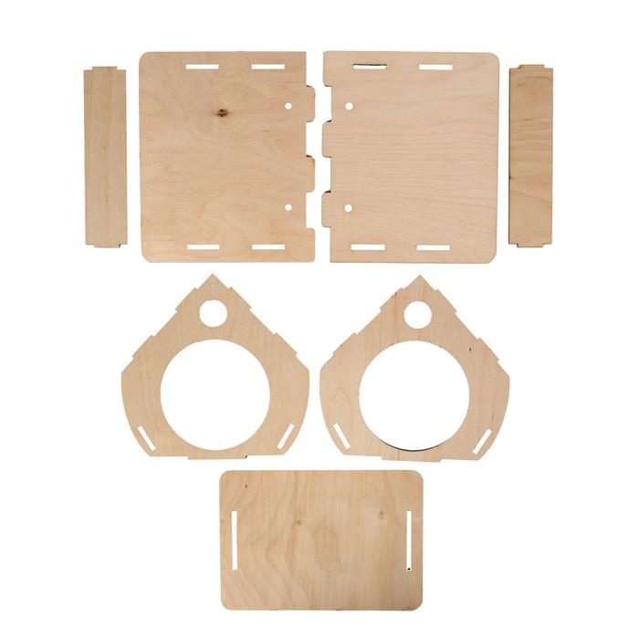Кормушка для птиц «Птички», 22,5 × 20,5 × 17 см
