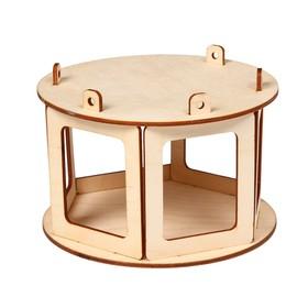 Кормушка для птиц «Беседка», 20 × 20 × 12 см, Greengo