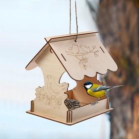 Кормушка для птиц «Птичка на ветке», 22 × 20 × 22 см, Greengo