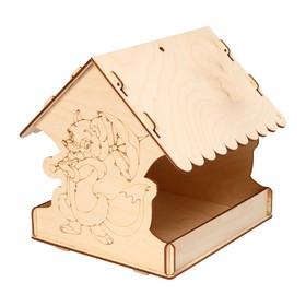 Кормушка для птиц «Лисичка с зонтиком», 22 × 20 × 22 см, Greengo