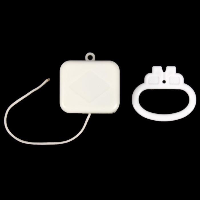 Механизм музыкальный механический для детского мобиля 3х5,5х4,8 см