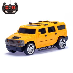 """RC jeep """"SUV"""", lighting effects, runs on batteries, scale 1:18, MIX"""