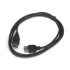 Кабель-удлинитель USB Am-Af, 1,5 m, чёрный