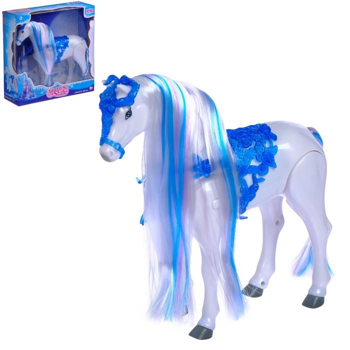 """Лошадь """"Красотка"""", ходит"""