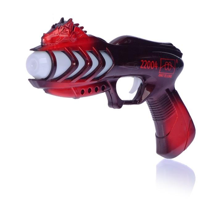 Пистолет «Космический огонь», световые, звуковые эффекты, цвет МИКС