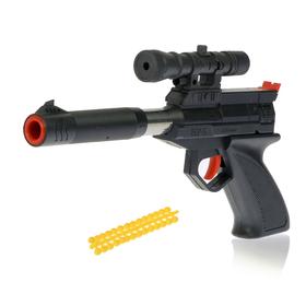 """Пистолет пневматический """"Агент"""", стреляет 4 видами снарядов"""