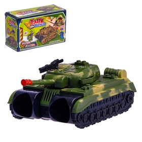 """Binoculars """"Tank"""", with strap and soldiers"""