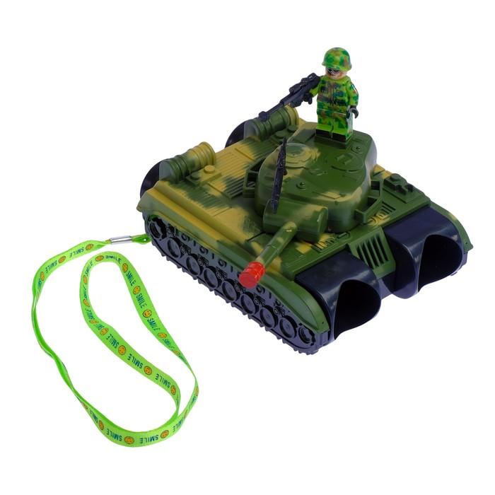 Бинокль «Танк», с ремешком и солдатиками