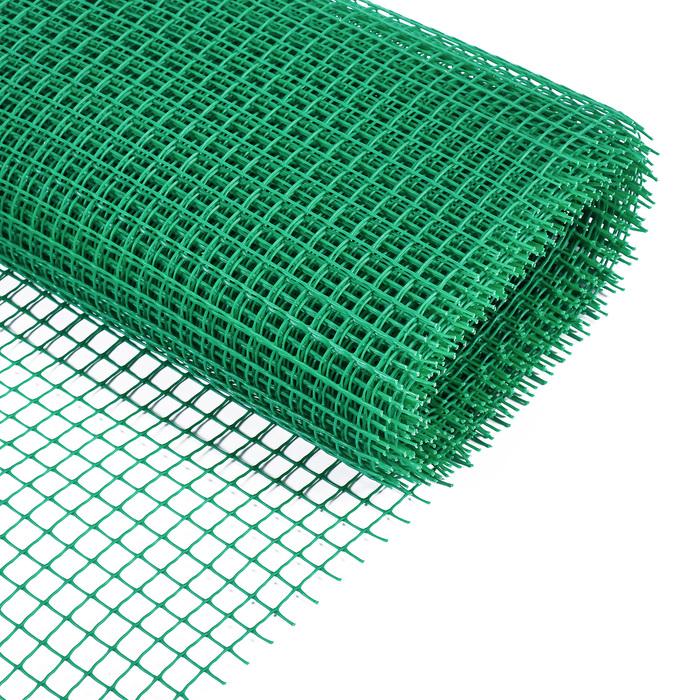 Сетка садовая, 0,9 × 10 м, ячейка 1.7 × 1.7 см, зелёная, Greengo