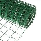 Сетка садовая, 1 х 10 м, ячейка 8.3 х 8.3 см, зелёная