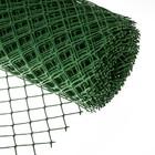 Сетка садовая, 1.5 х 25 м, ячейка 5.5 х 5.5 см, зелёная